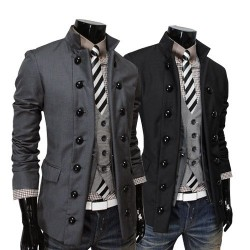 Low price discounted member price selling men's double-breasted suit collar