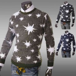 Low Price Member Price Discount England Casual Slim Hand Men's Sweater Sweater