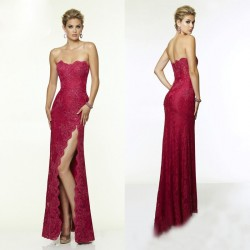 Discount custom dress stylish and elegant and beautiful lace Diamond prom dress chaired