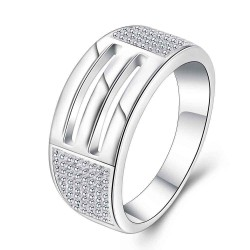 Discount fashion jewelry silver rings quick delivery in Europe and the US jewelry market promotion