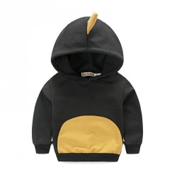 Boys cotton terry hooded cartoon design modeling sweater boy cartoon fast shipping low price promotion Spring and Autumn paragraph