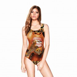Europe and the US sales market hot new style hot selling sexy beautiful digital prints special fashion sexy swimsuit Ms.