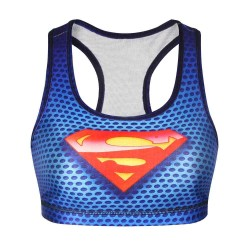 3D digital printing abstract patterns of strength training yoga bra sport breathable vest style underwear Ms.