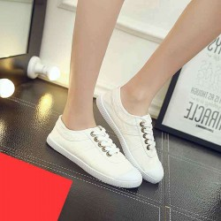 Canvas shoes to help low tide shoes casual autumn Ms. shallow mouth canvas shoes casual