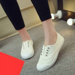 Ms. casual canvas shoes, solid color brand shoes fast shipping lady canvas shoes fast delivery