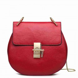 Discount new leather header layer of leather ladies bag piggy European market and the US market fashion chain shoulder bag
